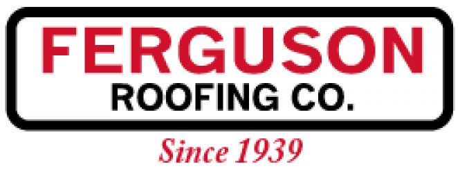 Ferguson Roofing Co. Logo Cropped Red Since 1939