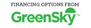 financing options available through GreenSky Credit