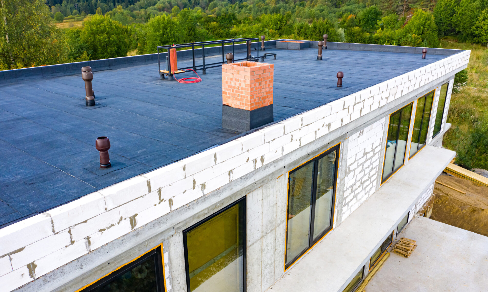 Flat Roofing Options